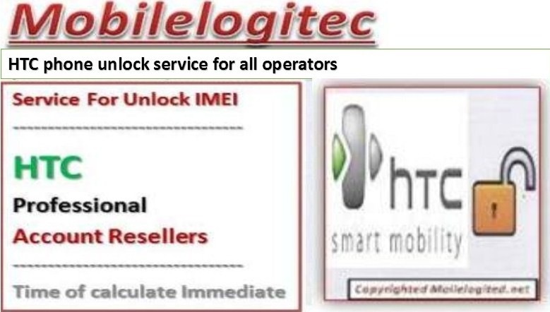 Unlock HTC By Code IMEI