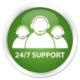 Support technique 24h/7
